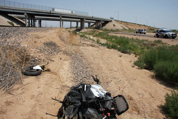 August 11th Motorcycle Crash