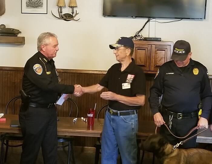 Kingman Social Club check presentation 2018-11-20