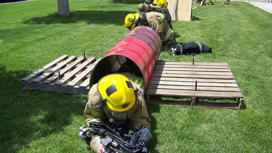 Firefighter Entrapment Training 2-min