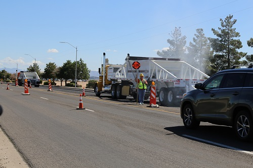 U.S. Route 66 (Andy Devine Ave.) Milling and Paving Update