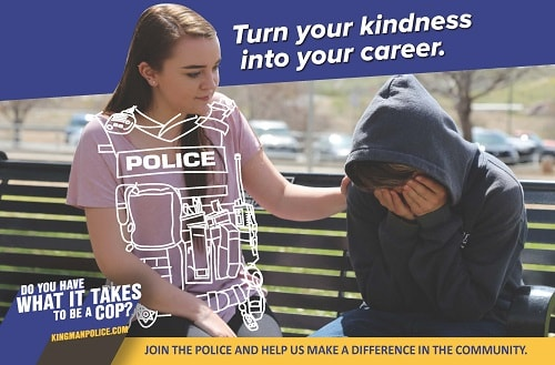 Kingman Police Department Launches New Recruiting Campaign