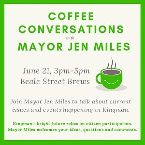 Coffee Conversations with Mayor Jen Miles