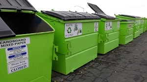 EZ Recycling Program Green Bins Removed this Week