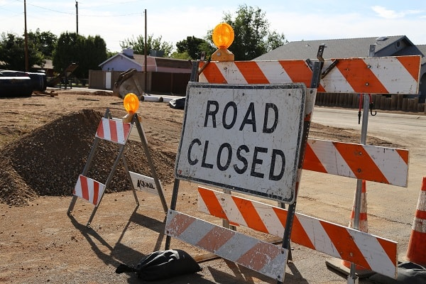 Willow-Kino Intersection Closed Beginning Monday 10-14-19