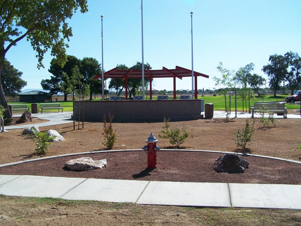 Doxol Memorial at Firefighters Park
