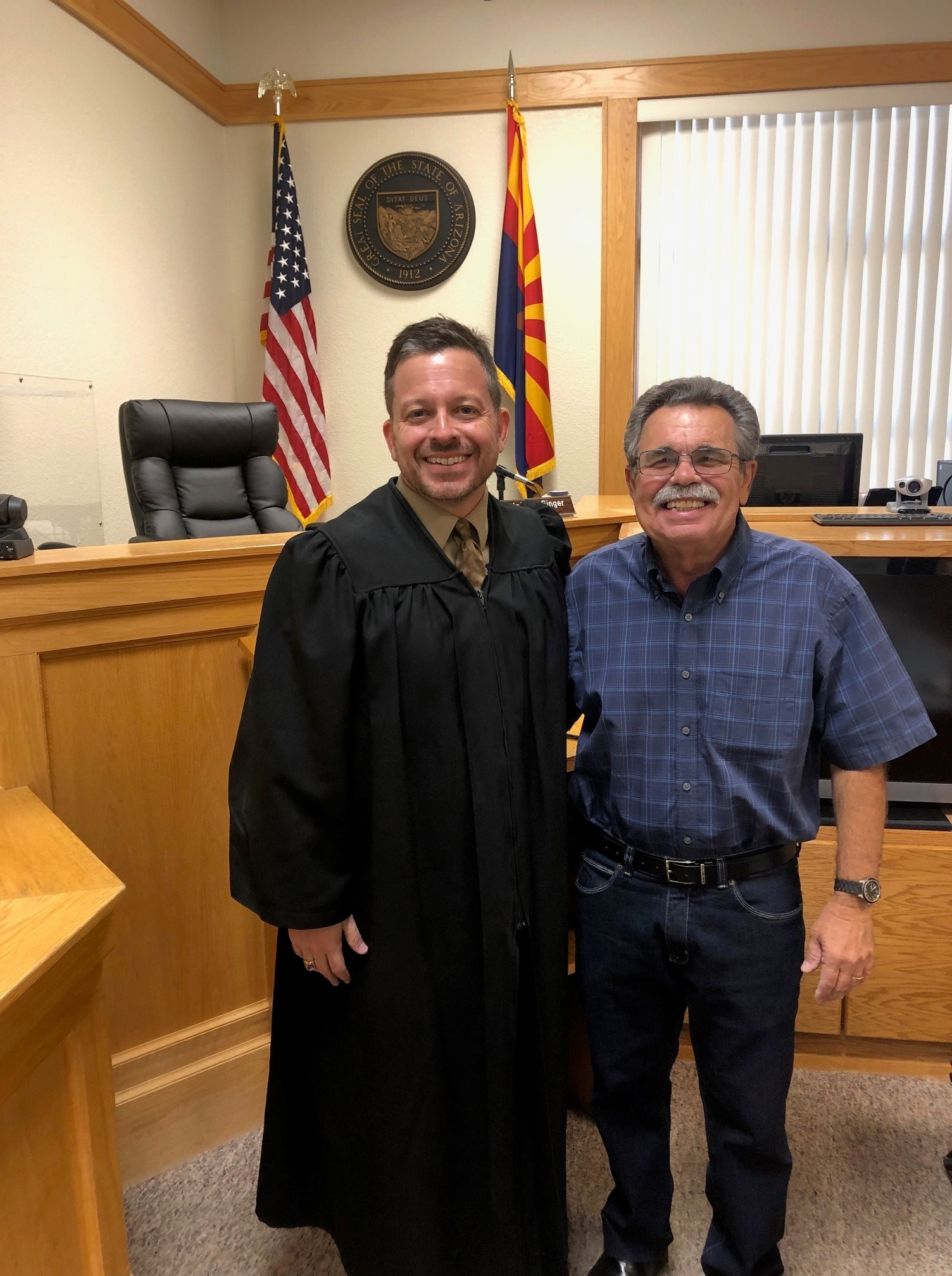 Veterans Treatment Court Mentor Inducted into AZHOF