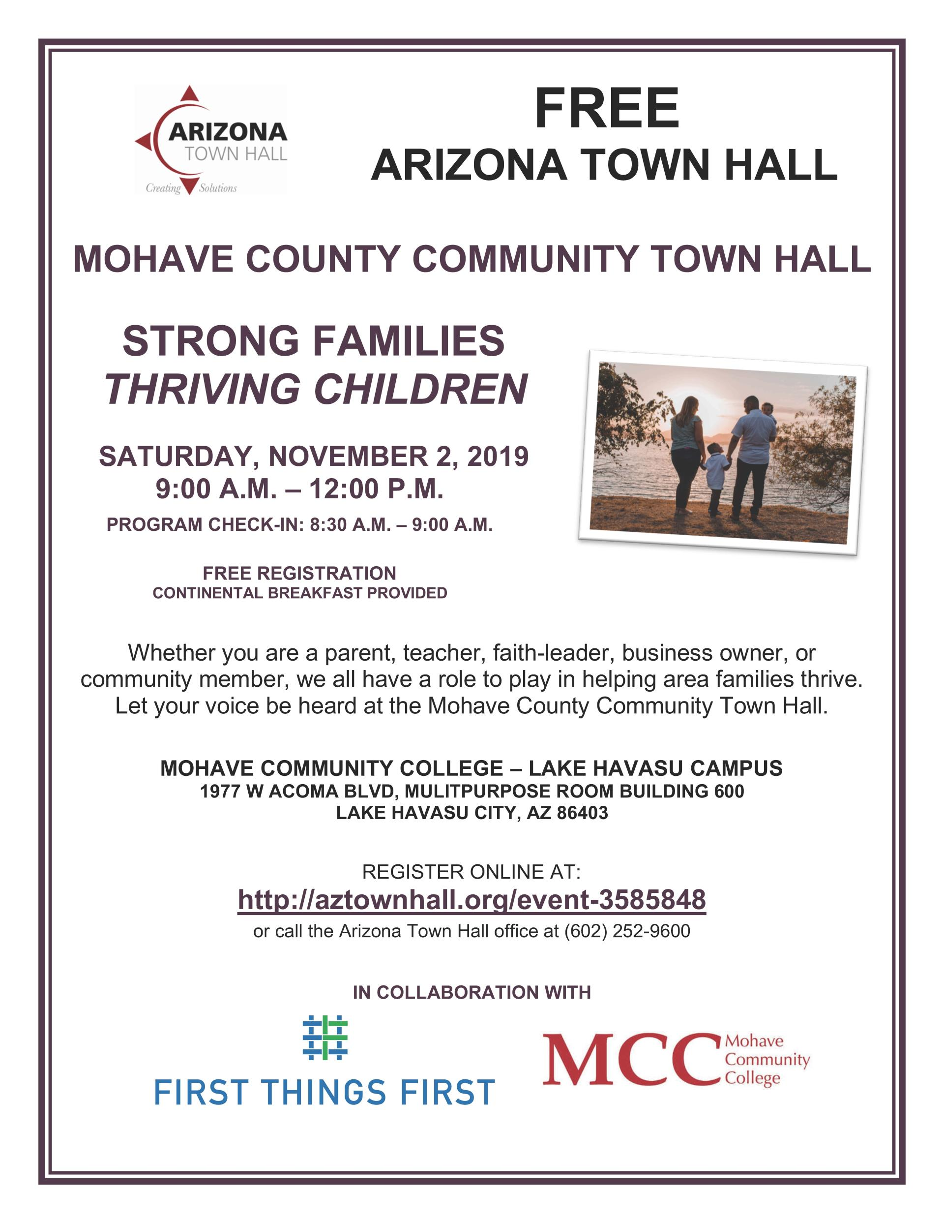 MOHAVE COUNTY COMMUNITY TOWN HALL