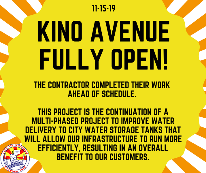 KINO AVENUE FULLY RE-OPENED!
