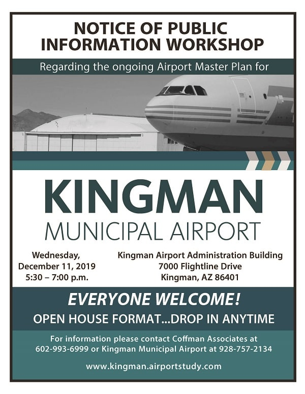 Kingman Municipal Airport Information Workshop