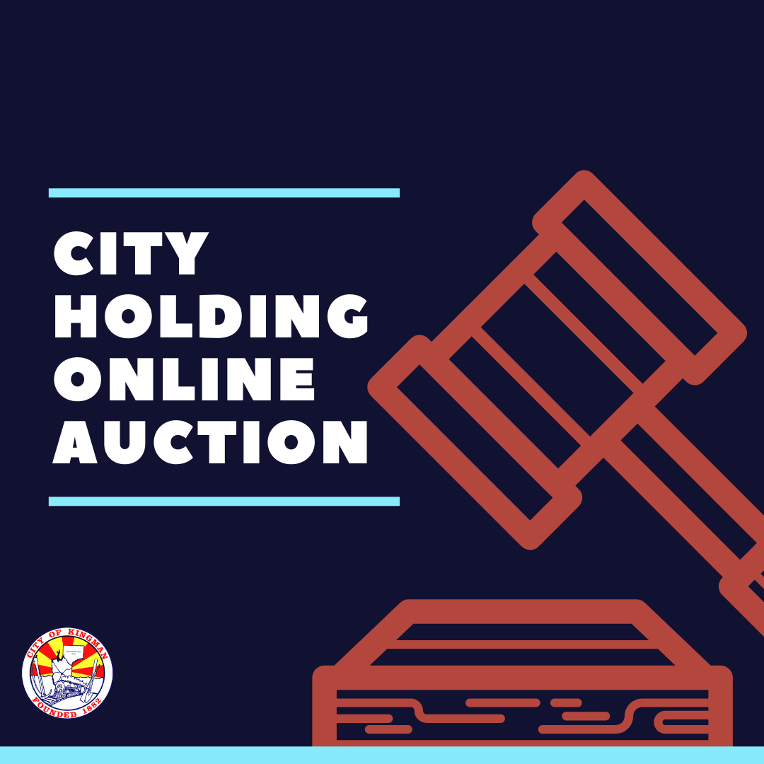 City of Kingman Auctioning Items Online