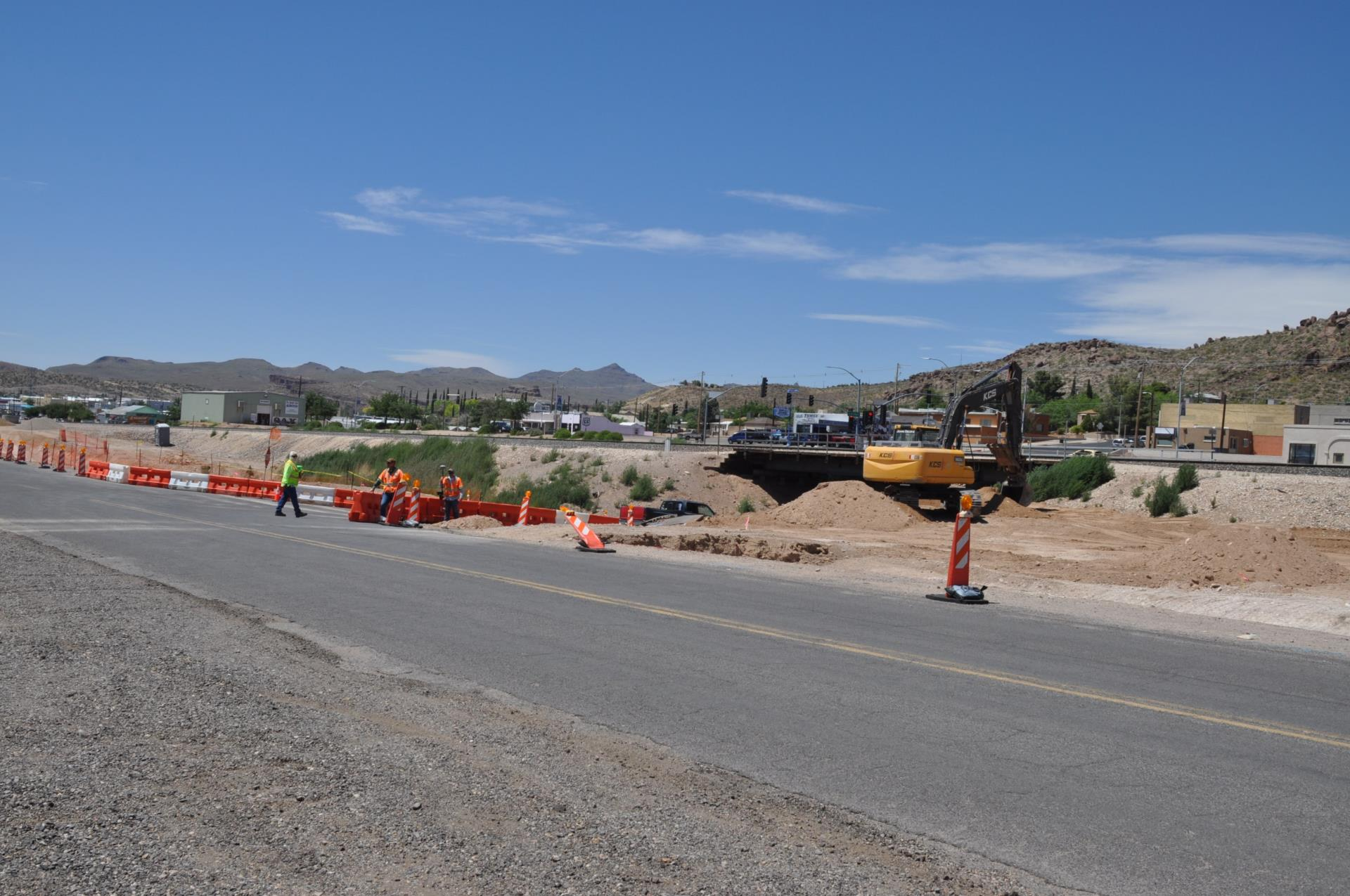 8th Street Underpass Drainage and Roadway  Improvement Project Underway