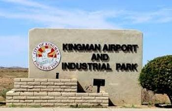 Kingman Airport Sign