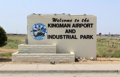 Kingman Municipal Airport Sign