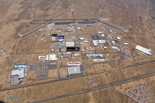 Kingman Municipal Airport aerial photo