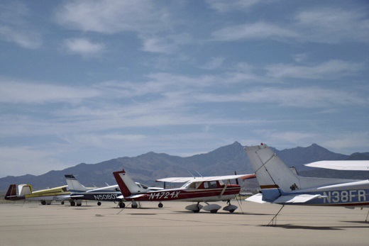 Kingman Municipal Airport apron